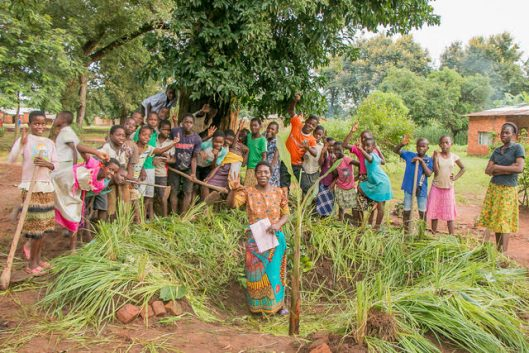 Photo: Malawi Schools Permaculture Clubs